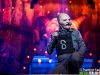 American heavy metal band Slipknot performs live
