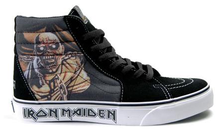 scarpe iron maiden