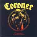 CORONER - Copertina Punishment for decadence -