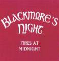 BLACKMORE'S NIGHT - Copertina Fires At Midnight - 2001