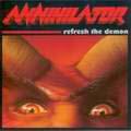 ANNIHILATOR - Copertina Refresh The Demon - 2002