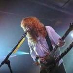 MEGADETH: una foto di Dave Mustaine con Chris Adler