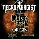 Necrophagist + Misery Index + Origin + Diskreet