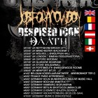 Unearth + Job For A Cowboy + Despised Icon + Daath