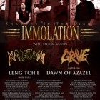 Immolation + Krisiun + Grave