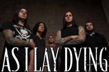 AS I LAY DYING - Intervista A pochi passi dall' oceano... - 2007