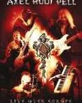 AXEL RUDI PELL - Copertina Live Over Europe - 2008