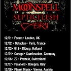 Cradle Of Filth + Gorgoroth + Moonspell + Septicflesh