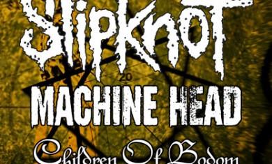SLIPKNOT + MACHINE HEAD + CHILDREN OF BODOM - Concerto - 2008