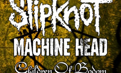 SLIPKNOT + MACHINE HEAD + CHILDREN OF BODOM - Concerto - 2008