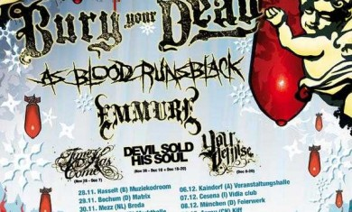 SANTA SLAUGHTER TOUR: BURY YOUR DEAD + FULL BLOWN CHAOS + EMMURE - Concerto - 2008