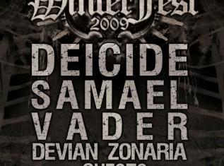 DEICIDE + SAMAEL + VADER + DEVIAN + ORDER OF ENNEAD + THE AMENTA - Concerto - 2009