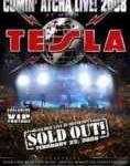 TESLA - Copertina Comin' Atcha Live 2008 - 2009