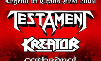 TESTAMENT + KREATOR + CATHEDRAL - Concerto - 2009