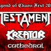 TESTAMENT + KREATOR + CATHEDRAL