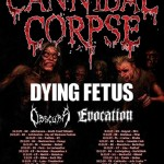 cannibal corpse tour 2009