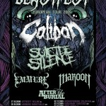CALIBAN + SUICIDE SILENCE + MAROON + EMMURE + AFTER THE BURIAL - Concerto - 2009