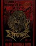 DISMEMBER - Copertina Under Bloodred Skies - 2009