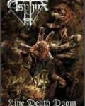 ASPHYX - Copertina Live Death Doom - 2010
