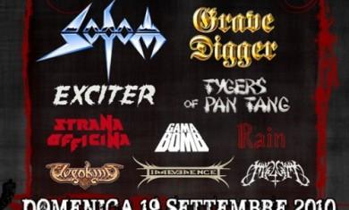 ROCK HARD FETIVAL ITALIA: ORARI CONCERTI E MEET & GREET, MISS ROCK HARD E ALTRI DETTAGLI! - Articolo - 2010