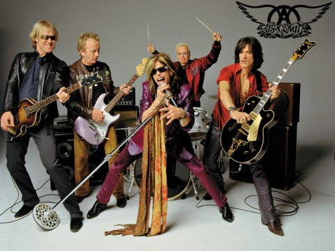 Aerosmith - band - 2014