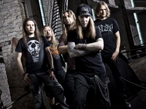 Children Of Bodom - band - 2012