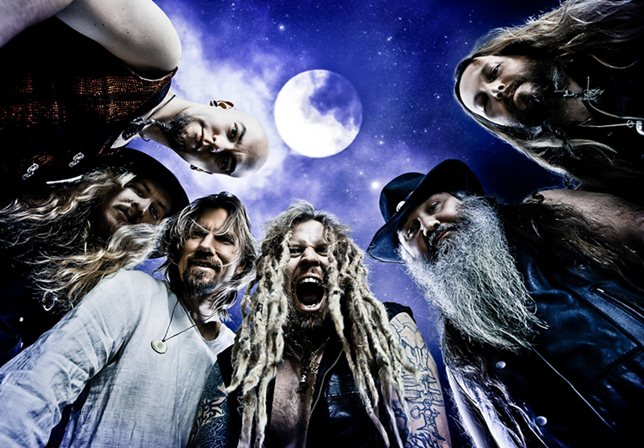 Korpiklaani - intervista band - 2015