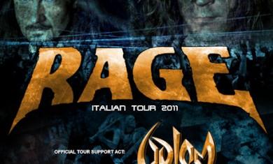 RAGE + GOLEM + BEJELIT - Concerto - 2011