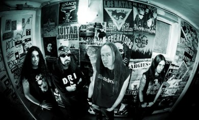 Necrodeath - band - 2014