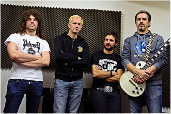 Raw Power - immagine band - 2014