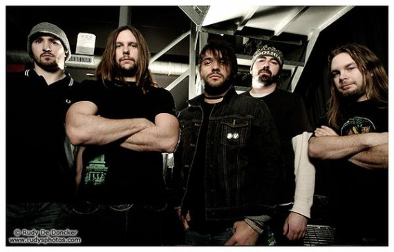 Unearth - band - 2012