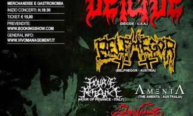 WELCOME TO THE PIT FESTIVAL: DEICIDE, BELPHEGOR E ALTRI - Articolo - 2011