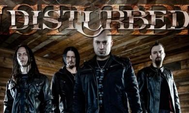 disturbed - lineup - 2011