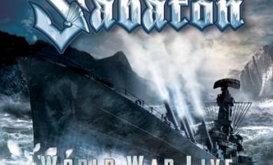 """SABATON: ARTWORK E TRACKLIST DI """"WORLD WAR LIVE: BATTLE OF THE BALTIC SEA"""" - Articolo - 2011"""