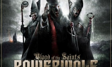 powerwolf - blood of the saints cover - 2011