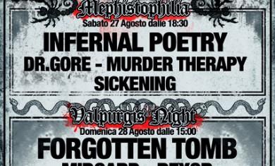 faust extreme fest II - locandina - 2011