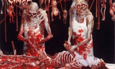 CANNIBAL CORPSE - Butchered At Birth - 1991