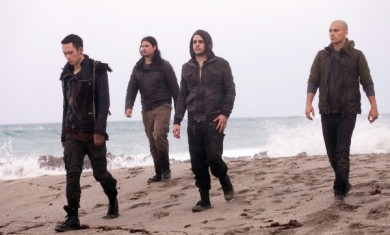 TRIVIUM - band shoot - 2011
