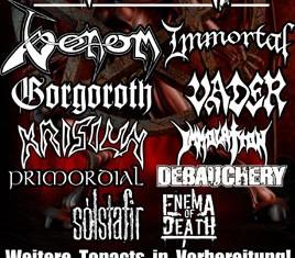 christmas metal festival - locandina - 2011