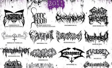 kill-twon death fest - flyer -2011
