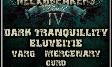 Neckbreakers Ball - flyer - 2011