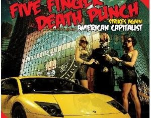 five finger death punch - american capitalist - 2011