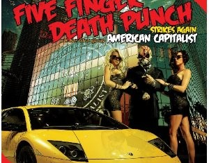five finger death punch - american capitalist - 2011