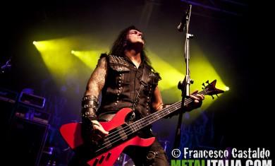 Morbid Angel live @ Magazzini Generali l'1 dicembre 2011