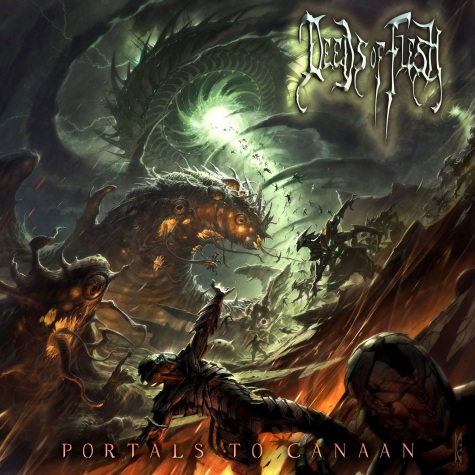 deeds of flesh - portals to canaan - 2012