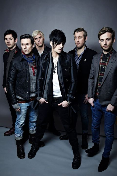 lostprophets - band - 2012