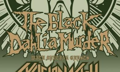 the black dahlia murder - uk tour - 2012