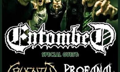 ENTOMBED - Locandina - 03-02-2012