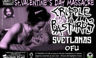 cripple bastards - locandina san valentino - 2012