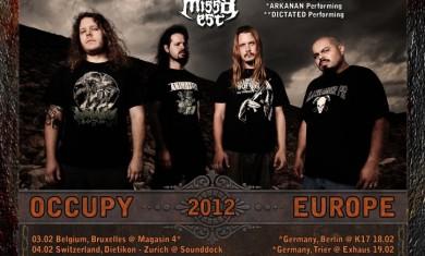 origin - psycroptic - tour locandina - 2012